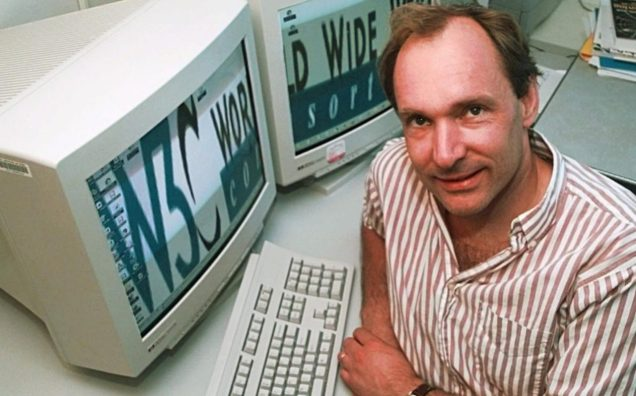 Tim Berners-Lee Image Source