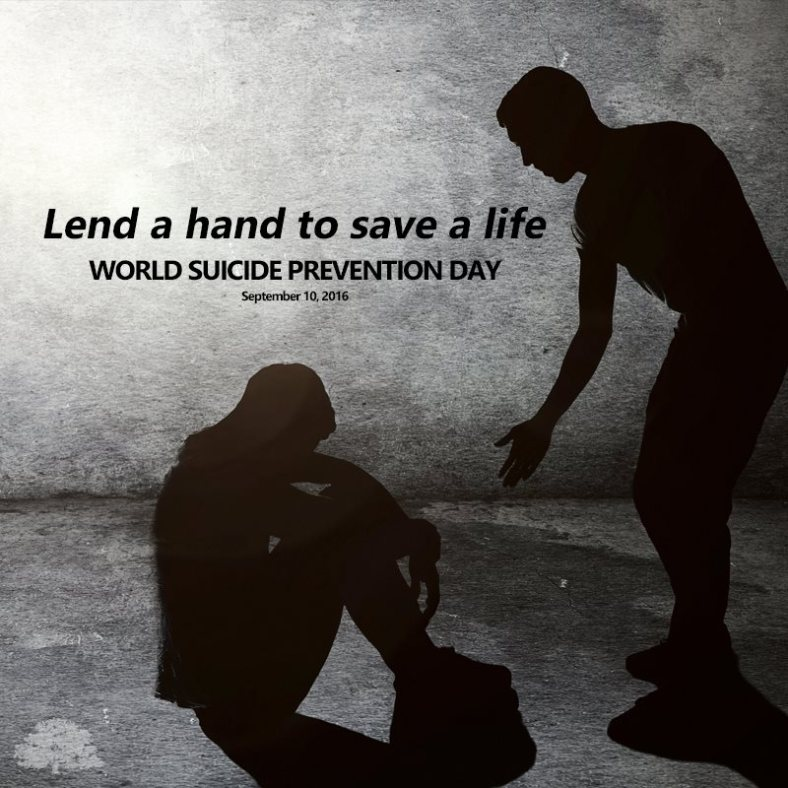 Image #worldsuicidepreventionday Facebook feed