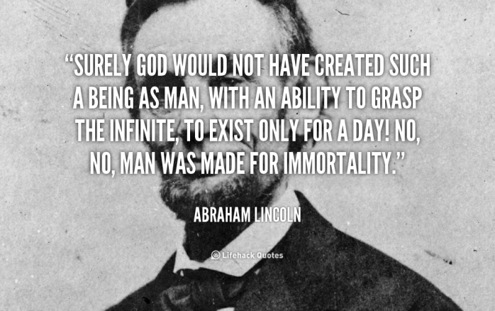 Abraham Lincoln quote. Image Source