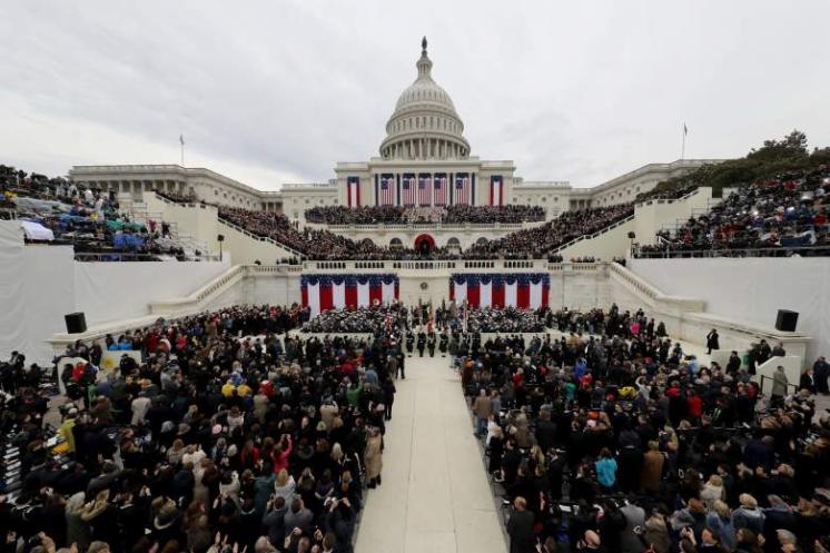 Inauguration Day January 20, 2017. Image Source